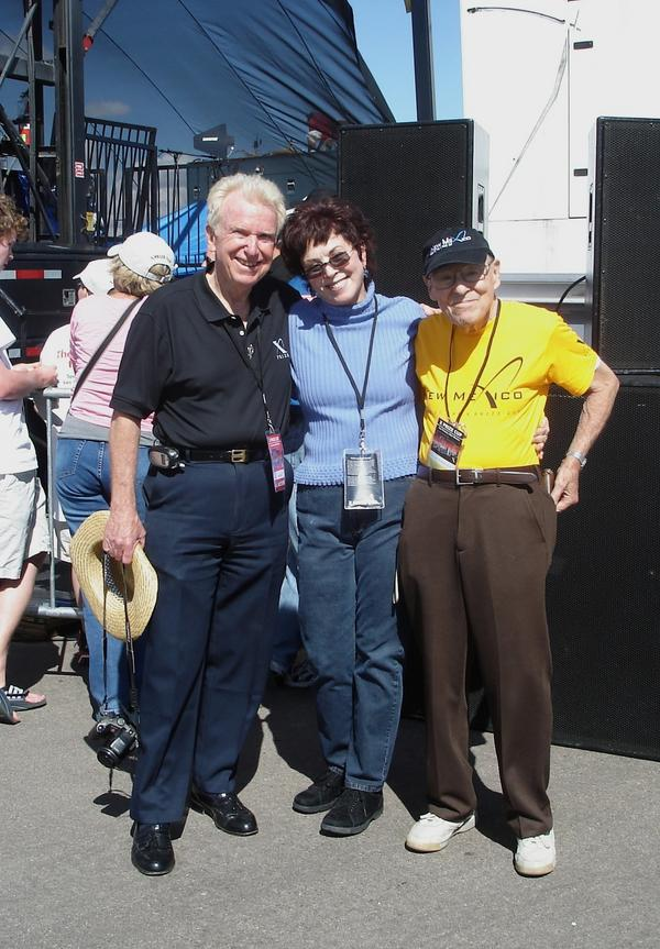 Bill, Pat and Len at XPrize Cup