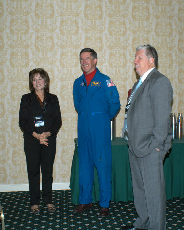 Audience with an Astronaut