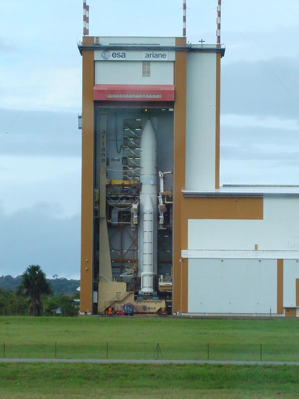 Rocket Launch Pad, Arianespace Facility
