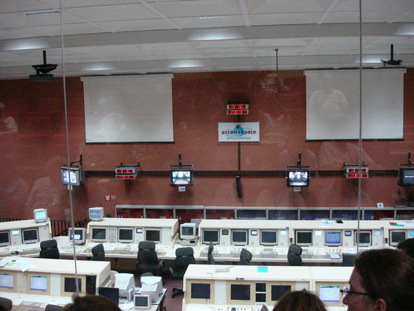 Launch Control Room, Arianespace