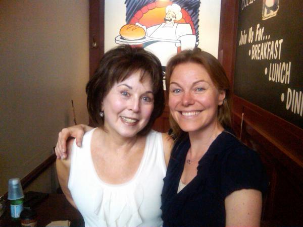 Pat Hynes and Karin Nilsdotter