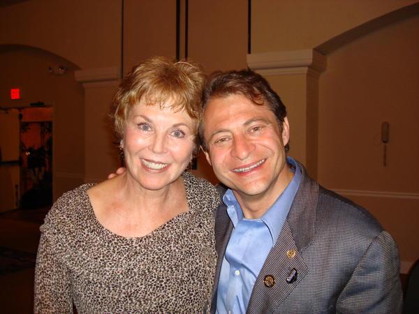 Pat and Peter Diamandis