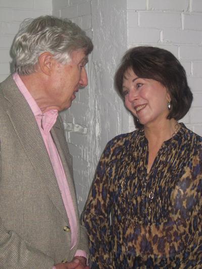 Pat Hynes with Neil Sheehan